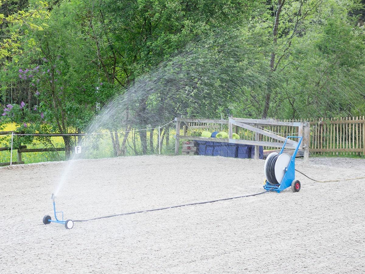 Wasserprinz im Einsatz