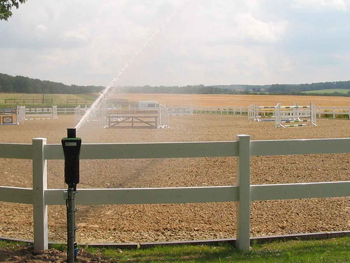 Reitplatzbewässerung