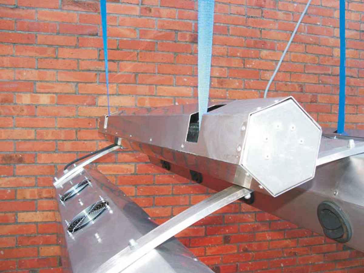 Solarium Deckenmontage