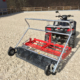 Reitbahnplaner floor care ahk mit Quad